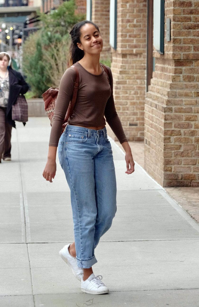 Malia Obama córka Baracka Obamy.