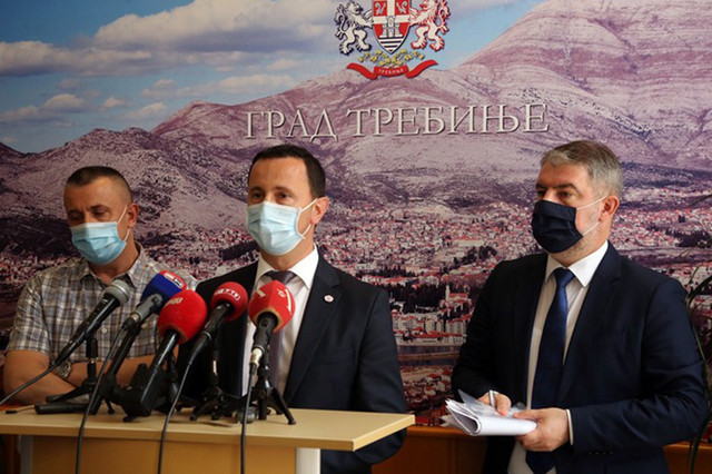 Mirko Ćurić i Alen Šeranić u Trebinju