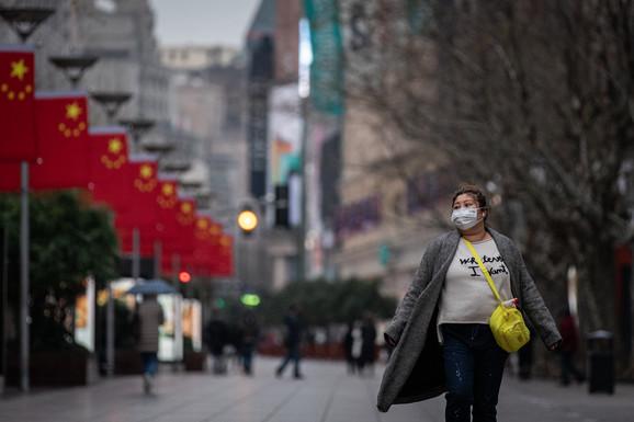 Šangaj Kina korona virus