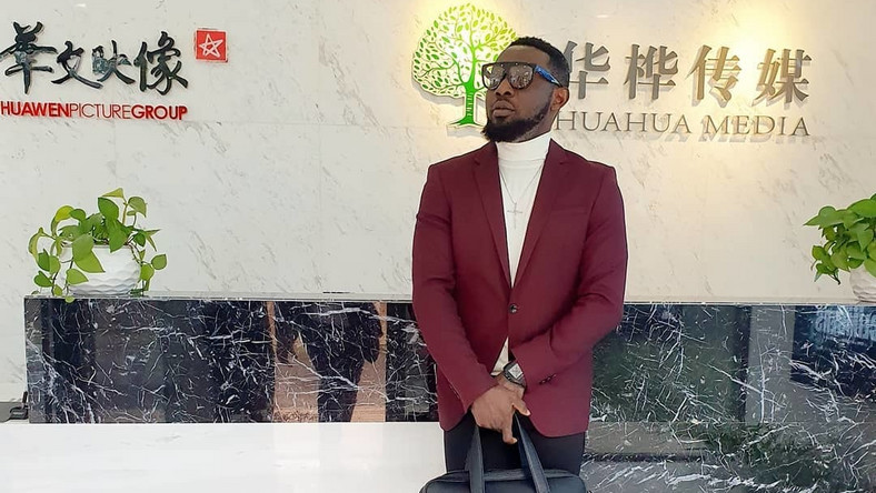 AY signs major deal with Chinese movie group to produce next film project, '30 Days in China'. [Instagram/aycomedian]