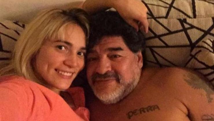 Dijego Maradona i Rosio Oliva