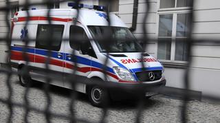 Protest ratowników medycznych w Warszawie. Część z nich nie przyszła do pracy