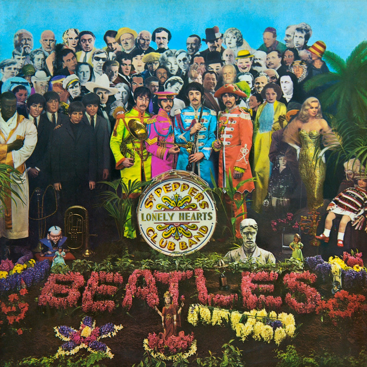 "Omot albuma ""Sgt Peppers Lonely Hearts Club Band"""