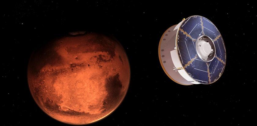 Supernowoczesny łazik wylądował na Marsie! Jest na nim nazwisko żyjącego Polaka