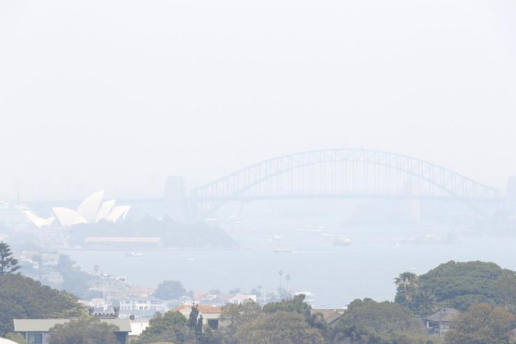 Sidnej, Požar