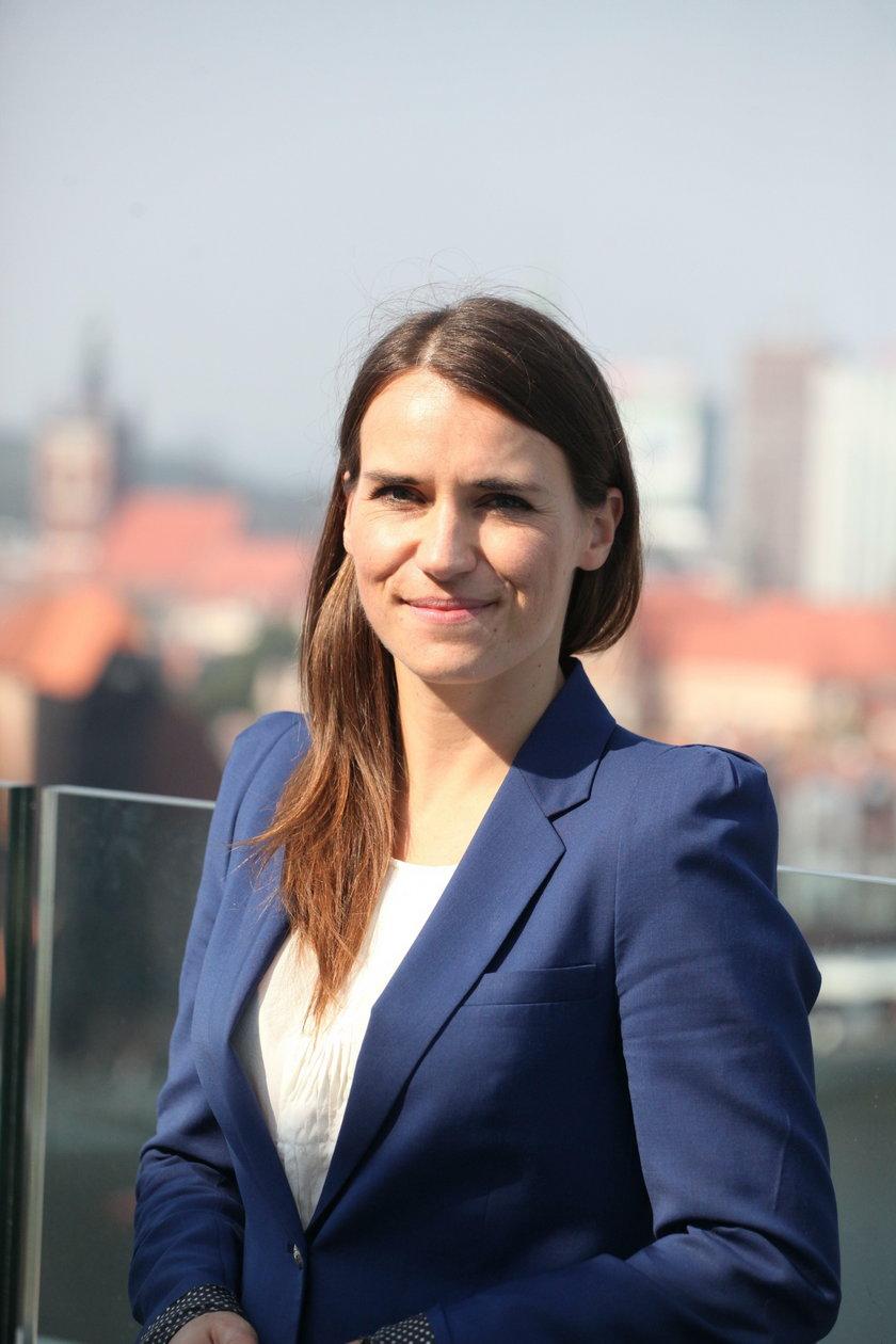 Posłanka PO Agnieszka Pomaska (37 l.)