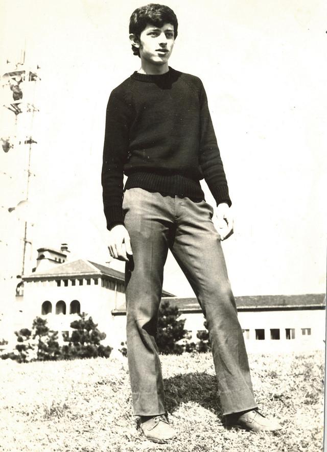 Miroslav Aleksić iz studentskih dana