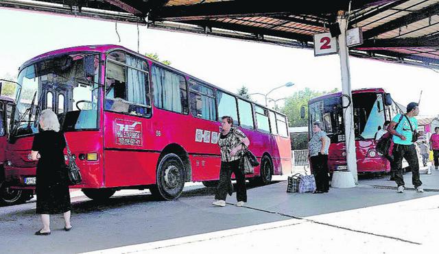 Putnici (zasad) bez zaštite: Autobuska stanica u Nišu