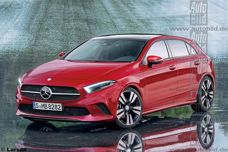 Nowy Mercedes klasy A - wizualizacja