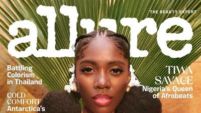 Tiwa Savage talks about unrealistic standards of beauty and loving her imperfections as she is featured on the cover of Allure Magazine