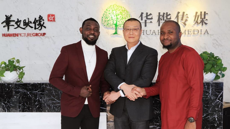 Ay signs a major deal with a huge Chinese company (Huahua Media)