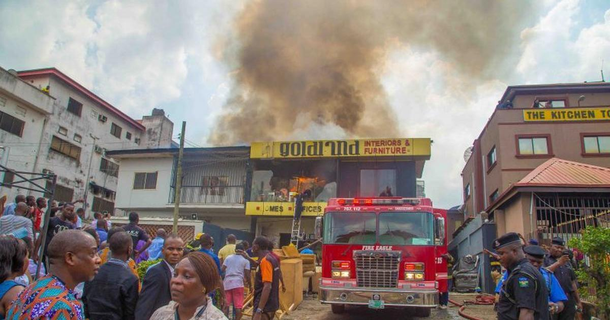Sisters burnt to death in Lagos home, parents escape - Pulse Nigeria