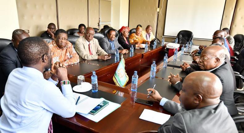 Kisumu Governor Anyang' Nyong'o appoints himself as acting county Health Minister