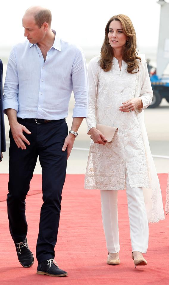 Kate Middleton w Pakistanie