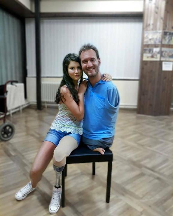 Biljana Stojković i Nik Vujičić