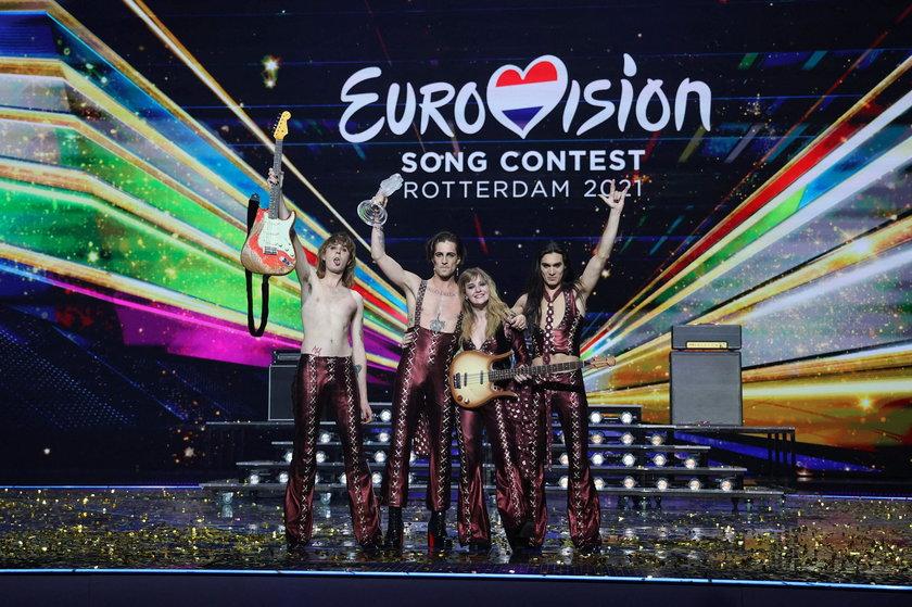 Maneskin to triumfatorzy Eurowizji 2021