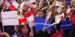 Posłanka Platformy wciąga dzieci w kampanię
