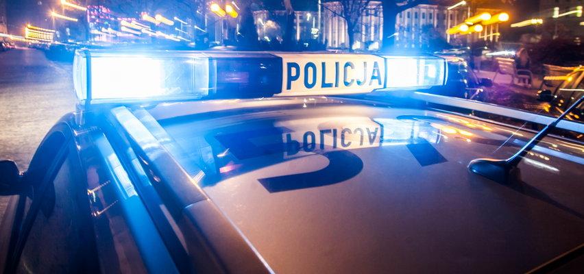 Strzały w Grudziądzu, potrącony policjant. Trwają poszukiwania sprawcy