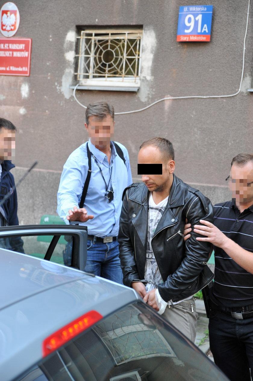 Dariusz K. aresztowany