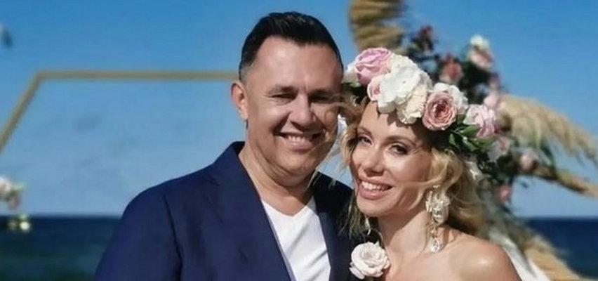 Małgorzata Opczowska ujawniła filmik ze ślubu z Jackiem Łęskim. Zdradziła pewien szczegół