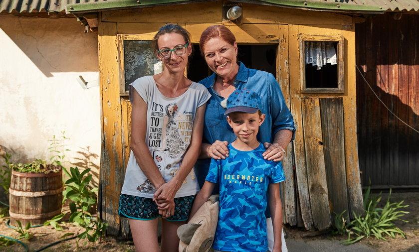 Katarzyna Dowbor z ekipą wyremontowała dom pani Anny i Antosia.