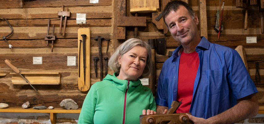 Połączyła ich miłość i pasja! Polsko-austriackie małżeństwo utworzyło muzeum hebla