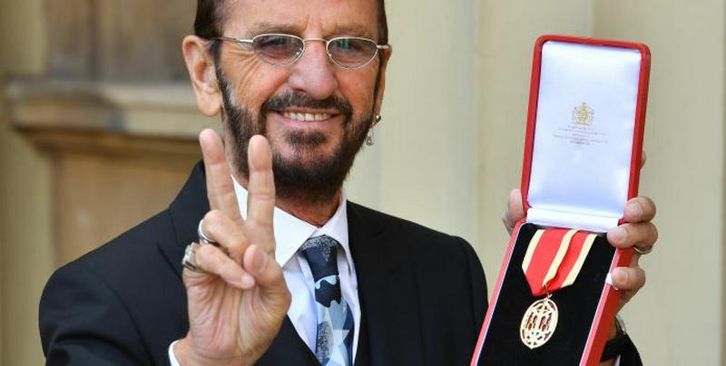 Ringo Starr otrzymał tytuł szlachecki