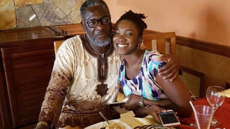 Late Ebony and her father