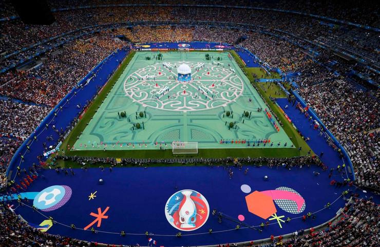 EURO 2016, otvaranje