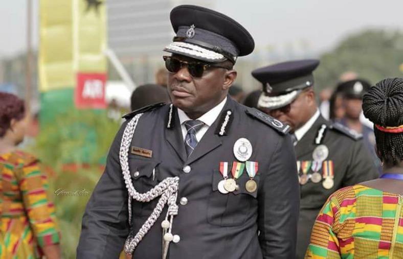 Inspector General of Police, David Asante Apeatu