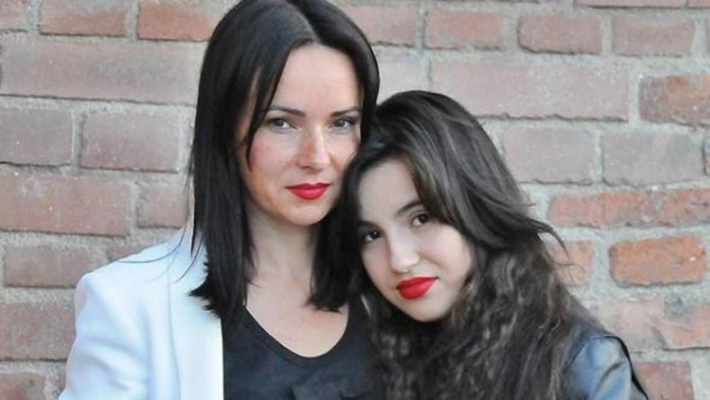 Kasia Kowalska z córką Olą