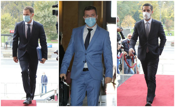 Srpski političari danas u Skupštini Srbije