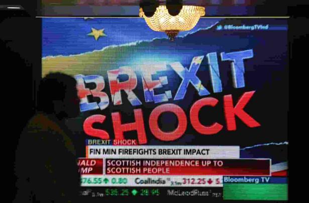 Brexit EPA/DIVYAKANT SOLANKI Dostawca: PAP/EPA.