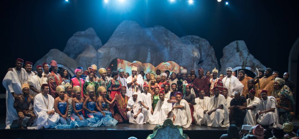 Queen Moremi the musical cast and crew