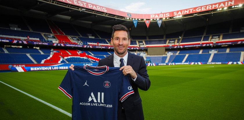 Messi w stroju PSG. Jest pierwsze WIDEO