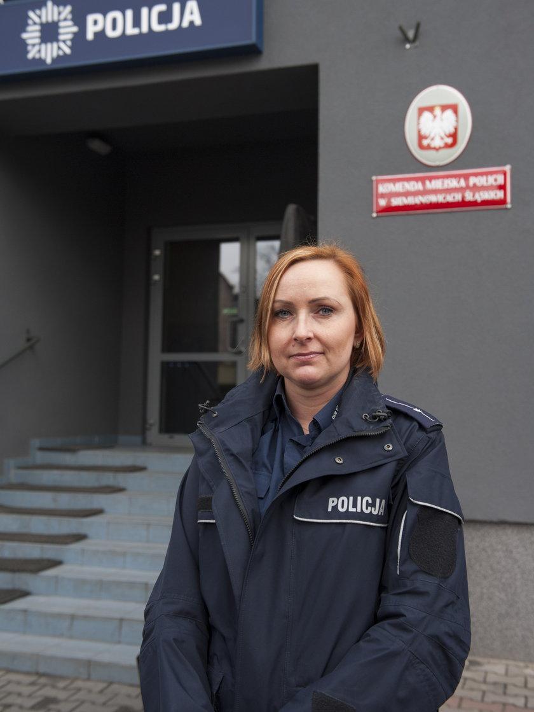 Tatiana Lukoszek, rzecznik policji w Siemianowicach Śl.