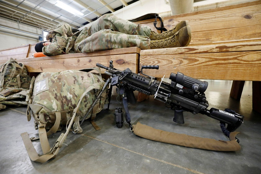 Amerykanie przerzucają dodatkowe siły na Bliski Wschód