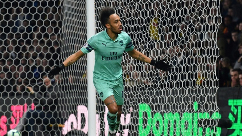 Pierre-Emerick Aubameyang gave Arsenal the goal they neded to beat Watford
