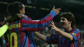 Ronaldinho wśród gości weselnych Lionela Messiego