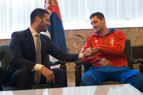Vanja Udovičić i Aleksandar Kukolj