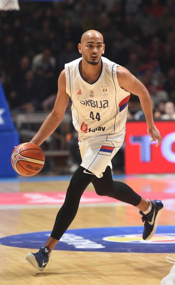 Stefan Peno u dresu reprezentacije Srbije
