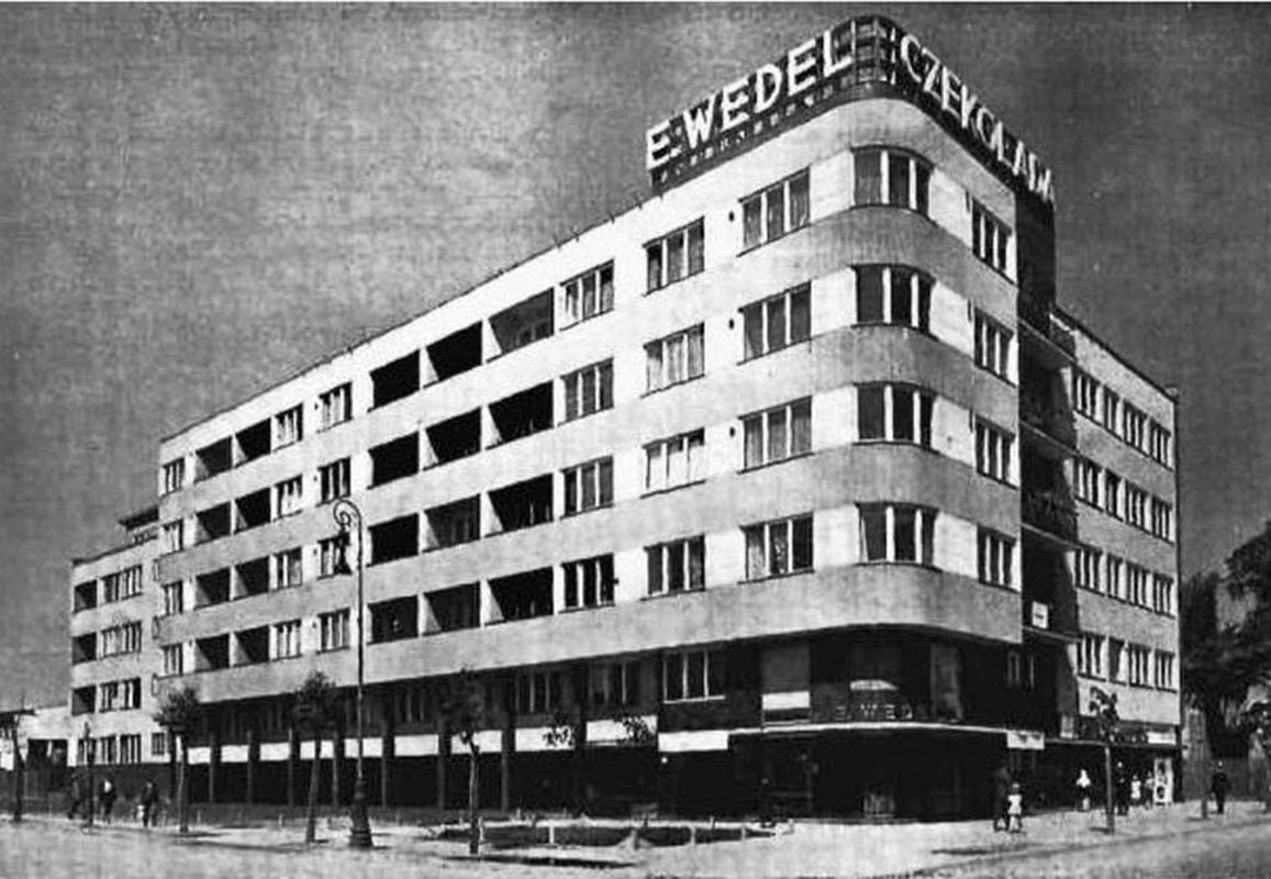 18 Dom Wedla na Puławskiej 28 prawdopodobnie w 1938 r.