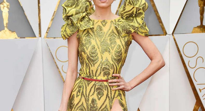 Blanca Blanco on the Oscars 2017 red carpet