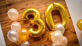 Prezent na 30. urodziny! Zobacz, co kupić na trzydziestkę