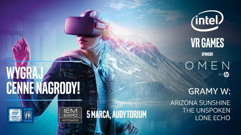 IEM 2017 - Intel VR Games - turniej w gry na VR dla publiczności