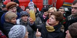 Beata Szydło: Nie macie wody? Pytajcie premiera