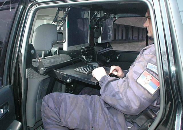 Ne može ni muva da promakne: Termovizijsko vozilo Pogranične policije