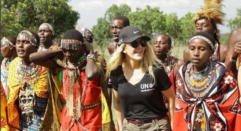 Top British Singer Ellie Goulding at Maasai Mara In Kenya