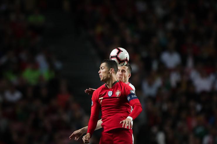 Kristijano Ronaldo i Uroš Spajić