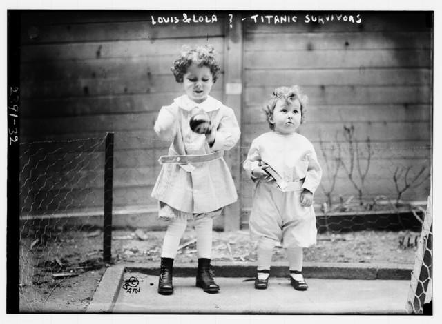 Ovu fotku braće Navratil su objavili mediji, pogrešno nazvavši decu Lui i Lola, a zahvaljujući njoj ih je pronašla njihova majka